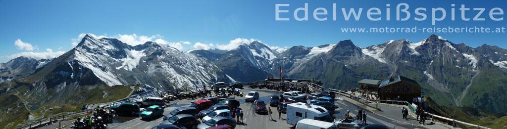 Edelweißspitze Panoramabild