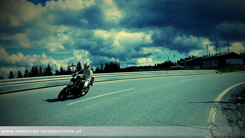 Motorrad Gaberl Kurve