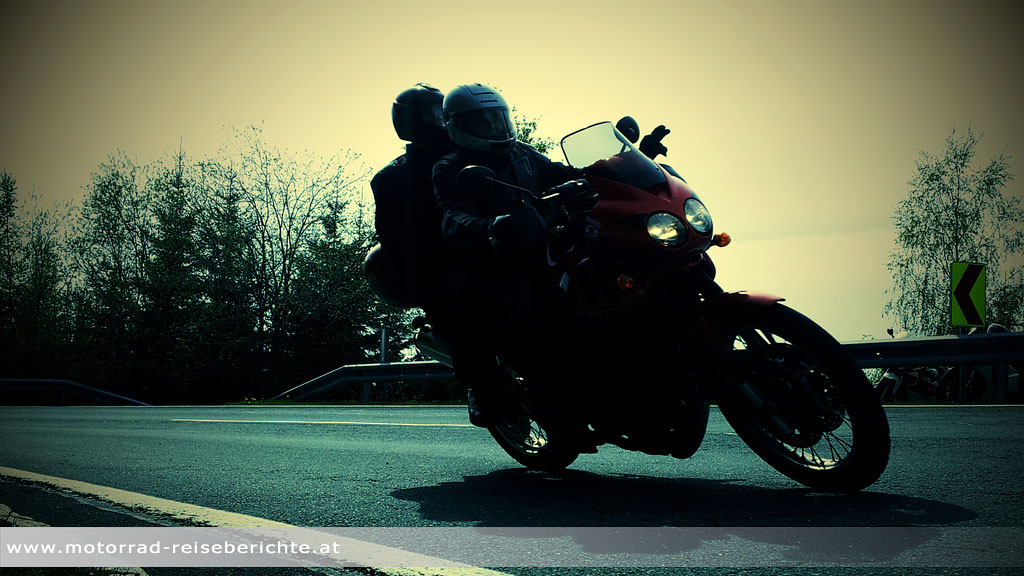 Motorradfahrer ozius