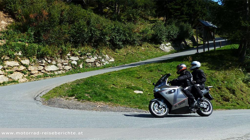 Sozius Motorrad