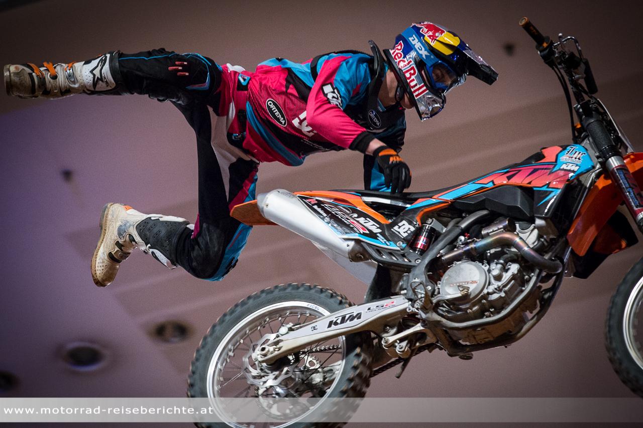 Motocross Night Jumps Motorrad