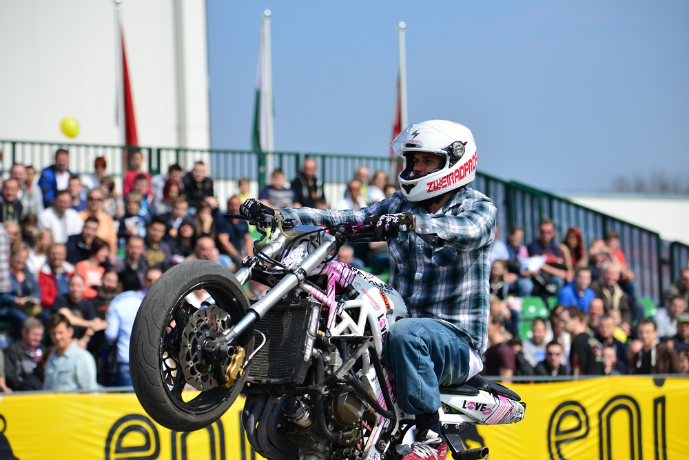 Motorrad Vorführung