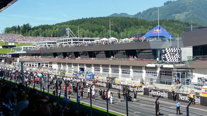 MotoGP Austria Startaufstellung