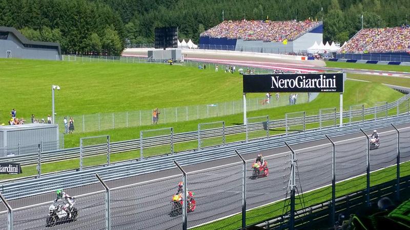 MotoGP Österreich Tribünen