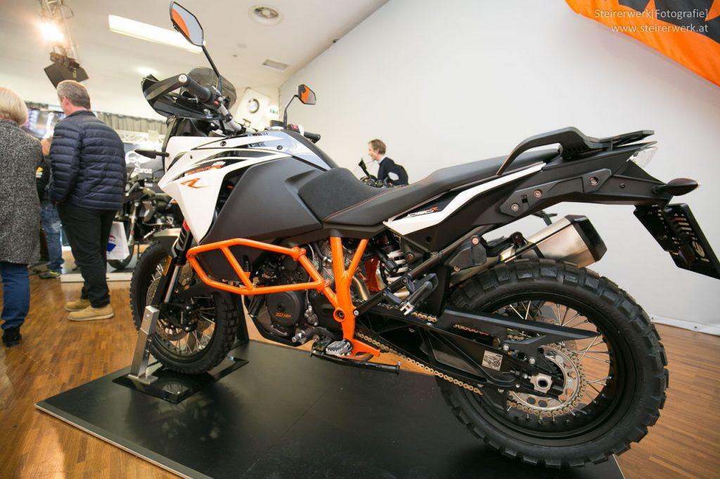 KTM Adventure Motorrad